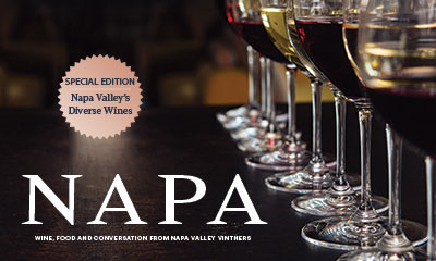 Napa Magazine Issue 10 Special Edition - Napa Valley's Diverse Wines
