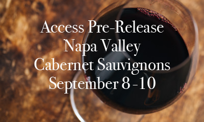 Access Pre-Release Cabernet Sauvignon at Open The Cellar