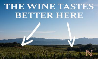 Napa Valley Wine Tastes Better Here - Open the Cellar