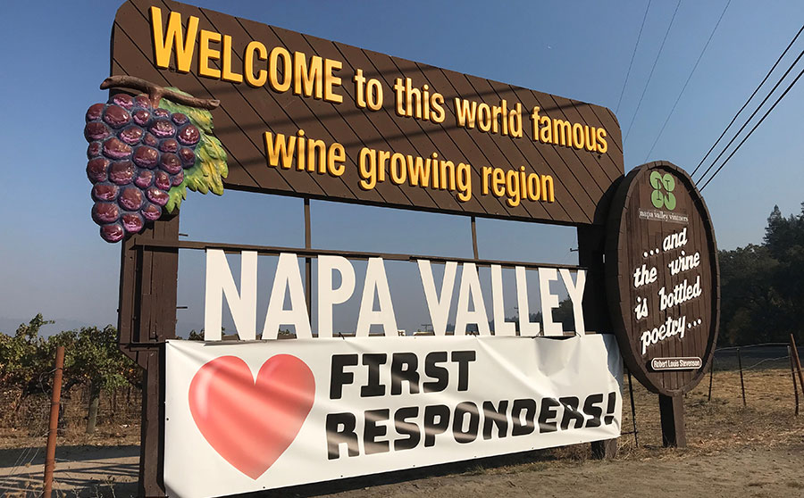 Napa Valley Loves First Responders!