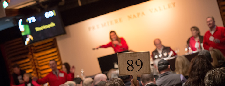 Premiere Napa Valley 2013 Auction