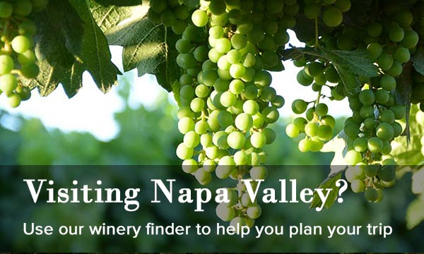 Visiting Napa Valley/ Use our winery finder to help you locate wineries