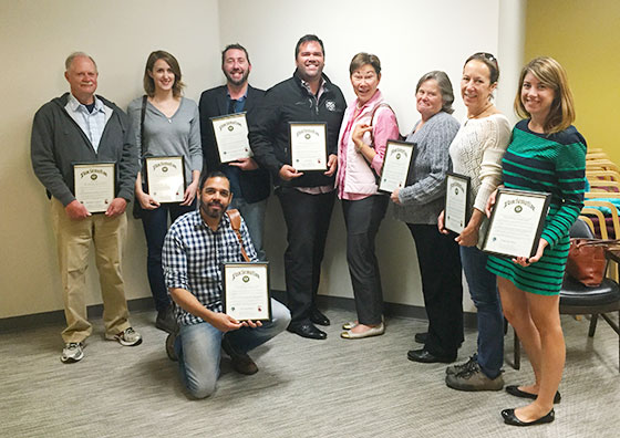 Newly Certified Napa Green Wineries