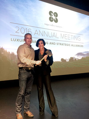 David R. Duncan and Emma Swain, NVV 2016 Annual Meeting